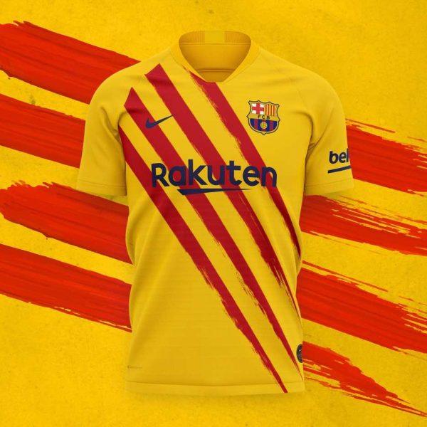 FC Barca tenue
